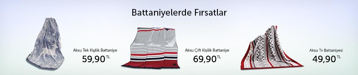 Aksu Battaniyeler Uygun Fiyatlarla