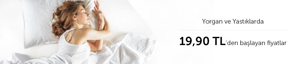 Yastık Ve Yorganlarda Dip Fiyatlar