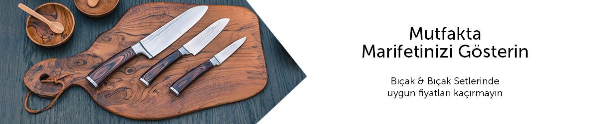 Bıçak & Bıçak Setleri Kampanyası