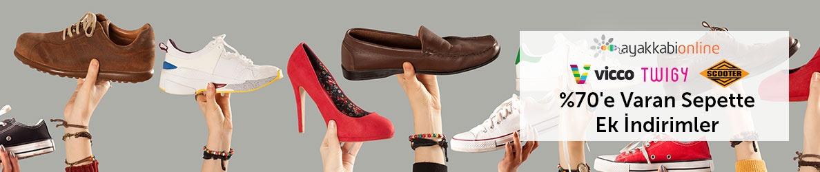 AyakkabıOnline Sepette %70'e Varan İndirimler