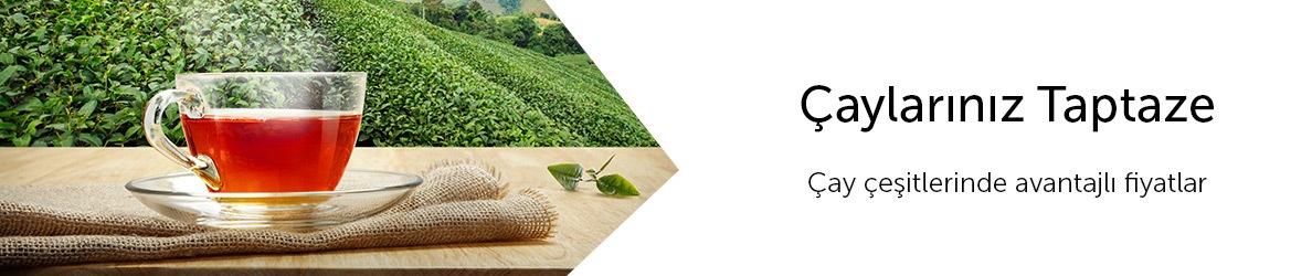 Çay Ürünlerinde Avantajlar