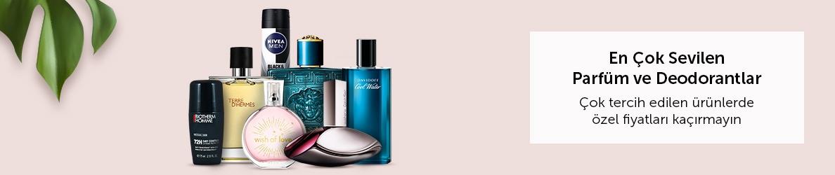 En Sevilen Parfüm ve Deodorantlarda Fırsatlar
