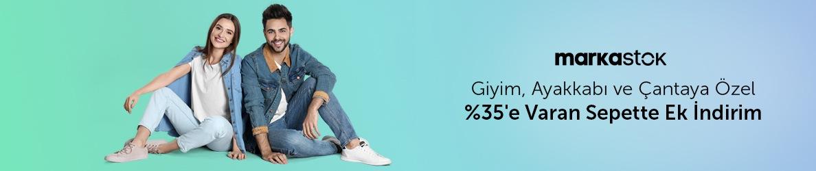 Markastok Giyim&Ayakkabı Ürünlerinde %35 Sepette Ek İndirim