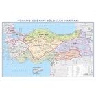 EĞİTİCİ Türkiye Bölgeler Haritası 100x140cm
