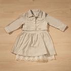 Mesutto Kız Çocuk 23 Nisan Bayram Ceketli Elbise 12-18 ay 1 yaş