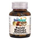 Sepe Natural Reishi Maitake Shiitake 90 Kapsül x 380 mg