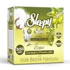 Sleepy Islak Havlu 3x50 Zeytinyağı