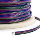 4'lü 0,22mm Çok Telli Montaj Kablo