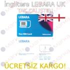 İngiltere Lebara UK (Vodafone) Sim Kart