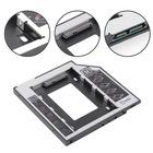 12.7mm 9.5mm HDD Caddy  LaptopNotebook 4716p DVD to SSD Kutu Sata