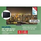 """Hi Level 50HL520 50"""" 127cm Uydu Alıcılı Full HD 200HZ Led Tv"""