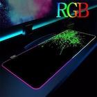90x40 Desenli LED RGB Işıklı Oyuncu Mouse Pad Kaymaz Tab...