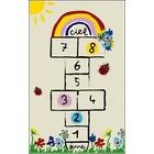 Anaokulu Çocuk Oyun Halısı Antialerjik Yumuşak Kaymaz Taban 8189
