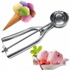Dondurma Kaşığı Metal Çek Bırak Paslanmaz Çelik Kepçe Yapışmaz