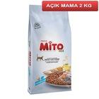Mito Mix Adult Tavuklu ve Balıklı Yetişkin Kedi Maması 2 Kg AÇIK