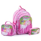 Pippa Prenses Neşva Simli Kız Çocuk İlkokul Çanta Seti