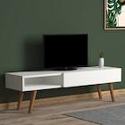 TV Sehpası Nuovo Açılır Kapaklı 120 CM  2 Renk Seçeneği