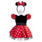 Minnie Mouse Kız Çocuk Kostümü