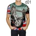 Baskılı erkek tişört Sıfır Yaka kısakol 8