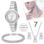12 Farklı Model Bayan Kol Saat,Bileklik,Kolye,Küpe Seti 038