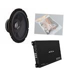 DB-0014 Kabinsiz Bass ve Amfi Seti Kablo seti hediye