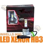 INWELLS LED XENON HB3 (9005) Şimşek etkili 8000 lm max. ışık 6500