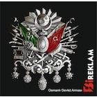 Osmanlı Devlet Arması Oto ve Eşya Sticker