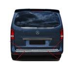 Mercedes Vito W447 Krom Bagaj Alt  Çıtası 2014+ Üzeri P. Çelik