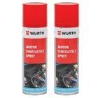 2X Würth Motor Temizleyici Sprey 500 ml (Su Gerekmez)