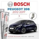 Bosch Aeroeco Peugeot 208 2012 - 2017 Muz Silecek Takımı