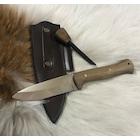 Bushcraft Av ve Doğa Bıçağı (Magnezyum Çubuklu)