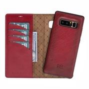 Bouletta Magic Wallet Deri Telefon Kılıfı-Samsung Note 8-V4Ef K