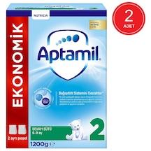 Aptamil 2 Ekonomik Paketli Devam Sütü 6-9 Ay 2 x 1200 G