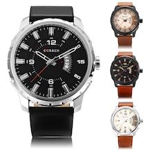 Erkekler için Birbirinden Güzel Curren Saat Modelleri