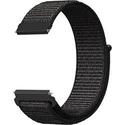 Mobicas Huawei Watch Gt 2 Pro 46mm (22mm) Kumaş Desenli Siyah