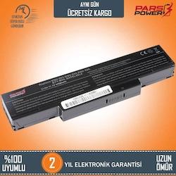 MSI MegaBook GT720X, GT725X, GT729 Notebook Batarya - Pil (Pars