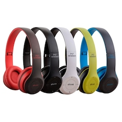 P47 WIRELESS BLUETOOTH KABLOSUZ MP3 ÇALAR KULAKLIK+FM RADYO