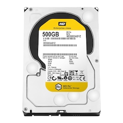 WD Caviar Black WD5003ABYZ RE SATA 500 GB 7200 RPM 3.5'' HDD