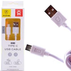Nokia 9 Type C USB Şarj Kablosu 2.1A 1M