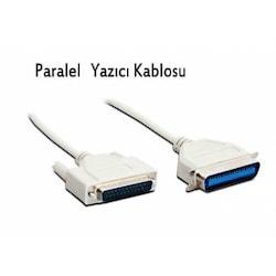 3 Metre 1284 LPT Yazıcı Kablosu 25 Pin Paralel Printer Kablo