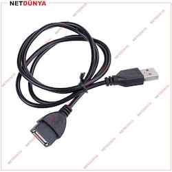 50CM-1,5M-3M-5M-10M USB UZATMA KABLOSU 2.0