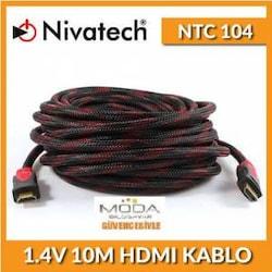 NİVATECH NTC 104 1.4V 10 METRE HDMİ KABLO