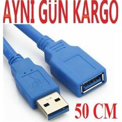 USB 3.0 UZATMA KABLOSU 50cm 4625a UZATICI DİŞİ ERKEK EKLEME UZAĞA