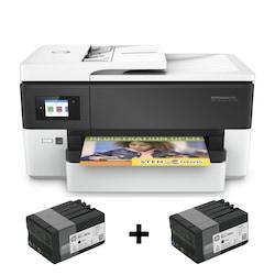 HP Officejet Pro 7720 Çok Fonksiyonlu A3 Yazıcı (Kartuş Hediyeli)