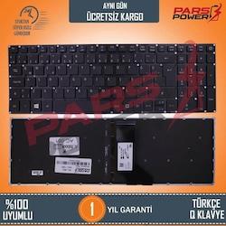 Acer Aspire V3-574TG, V3-575TG, VN7-572G Notebook Klavye Işıklı