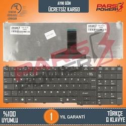 Toshiba Satellite C660-2ML, C660-2MM Notebook Klavye (Siyah TR)