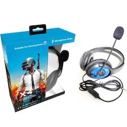 X4 Pubg Mikrofonlu Kablolu Kulak Üstü Oyuncu Kulaklığı