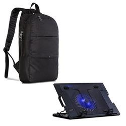 """Classone M25 Tek Fanlı 10"""" - 17"""" Notebook Soğutucu + PR-C1600 15.6"""" Notebook Çantası"""