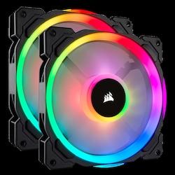 CORSAIR LL140 CO-9050074-WW ÇİFT IŞIK DÖNGÜ RGB LED PWM FAN