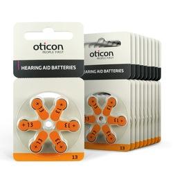 Oticon 13 Numara 1.45V İşitme Cihazı Pili 6 x 10'lu